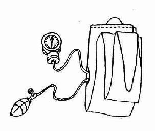 弹簧表式血压计