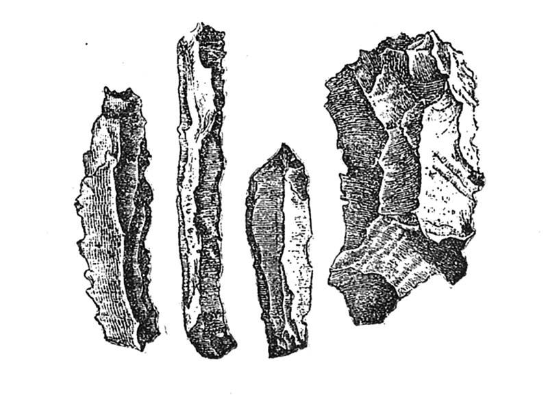 文件:Belgian flint knives.jpg