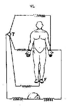 单极肢体导联的连接方式