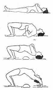 垫枕背伸肌锻炼法
