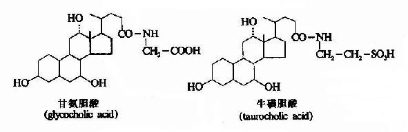 两种结合胆汁酸的结构