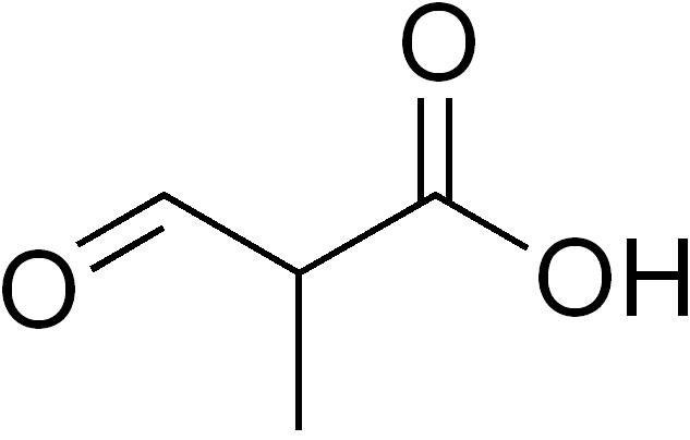 文件:2-methyl-3-oxopropanoic acid.png