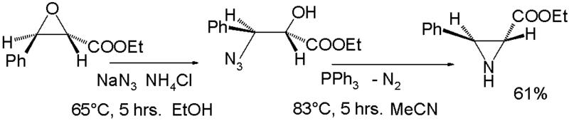 文件:AziridineSynthesisFromEpoxide.png
