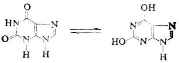 黄嘌呤酮式烯醇式