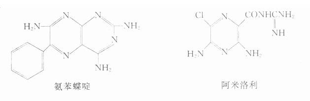 氨苯蝶啶及阿米洛利