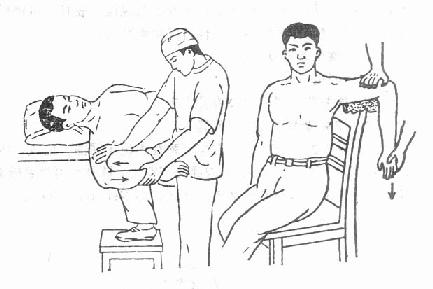 椅背复位法