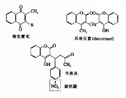 几种抗凝物质结构