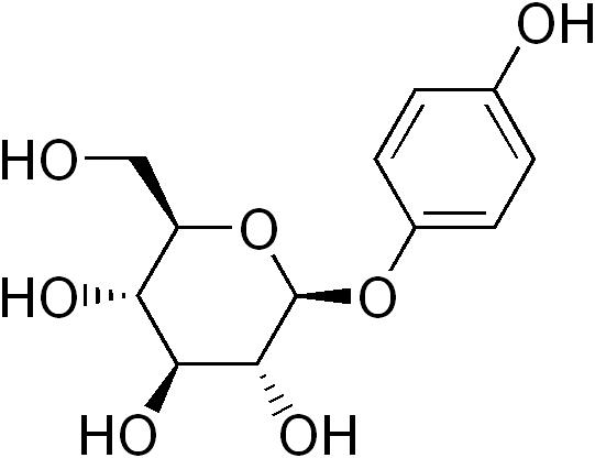 文件:Arbutin structure.png