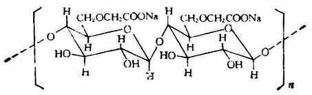 羧甲基纖維素鈉結構