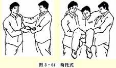 双人搬运——椅托式