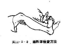 踝阵挛检查方法