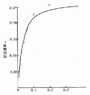 底物濃度對酶反應的影響