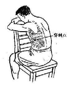 坐位时胸腔穿刺点
