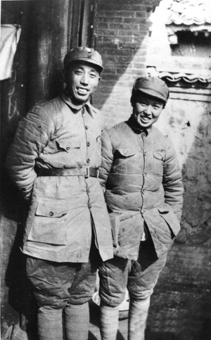 文件:1938 wangzhen and his wife.jpg