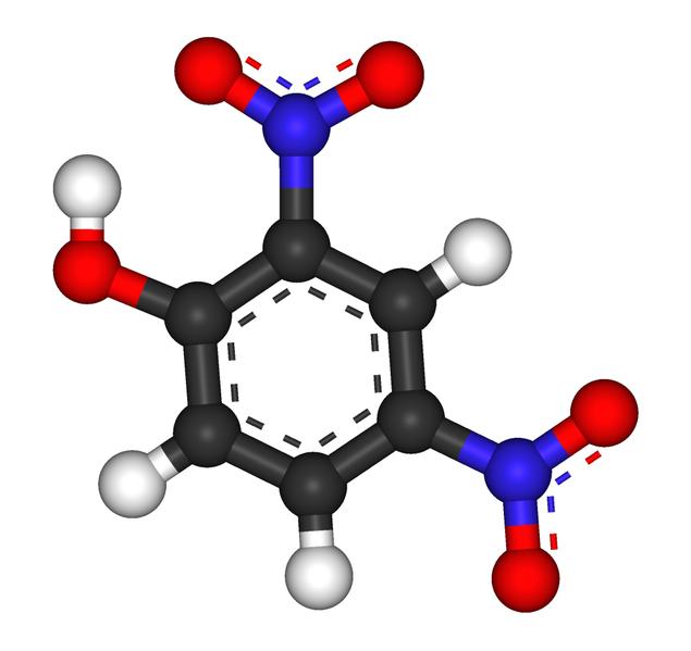 文件:2,4-Dinitrophenol 3D.png
