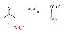 甲基锂甲基化丙酮