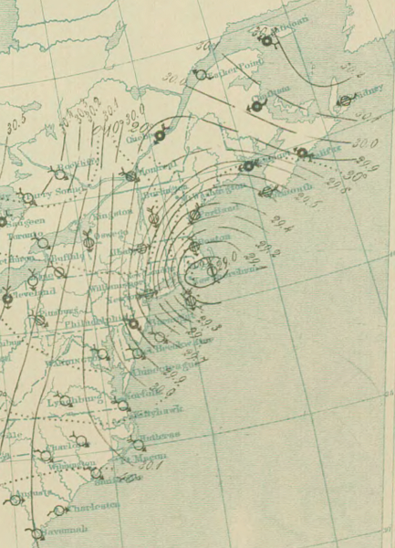 文件:10 PM March 12 surface analysis of Great Blizzard of 1888.png