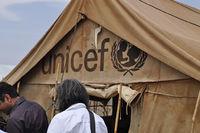 儿童基金会难民营