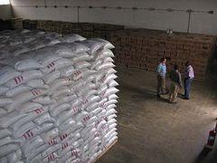 援助安哥拉的粮仓