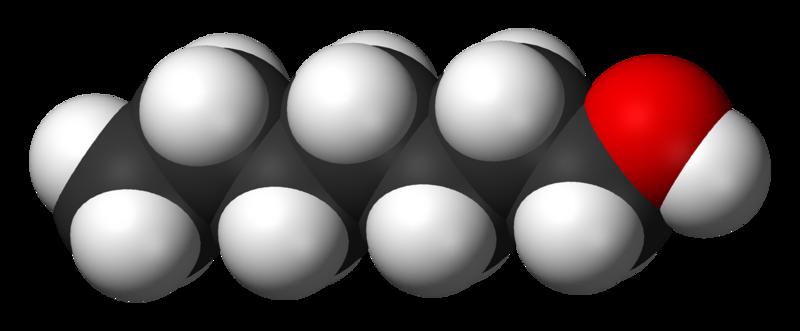 文件:1-Heptanol-3D-vdW.png