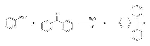 三苯甲醇的合成