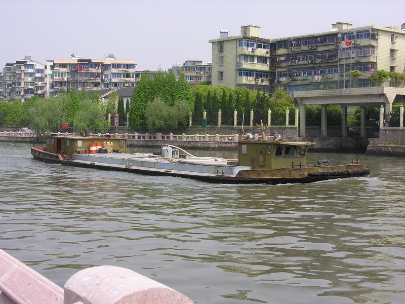 文件:A boat on Grand Canal of China.JPG